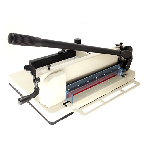 HFS New Heavy Duty Paper Cutter 12 Commercial Metal Base